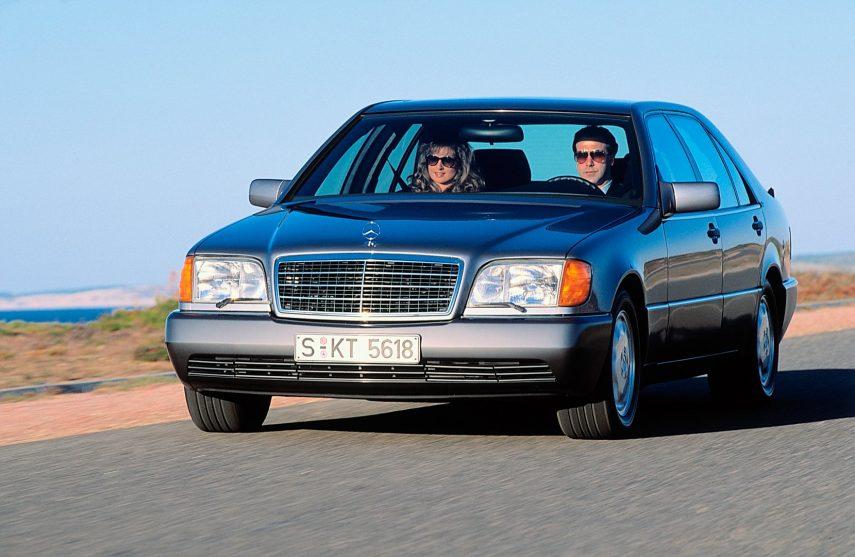 Coche del día: Mercedes 600 SE/SEL (W140)