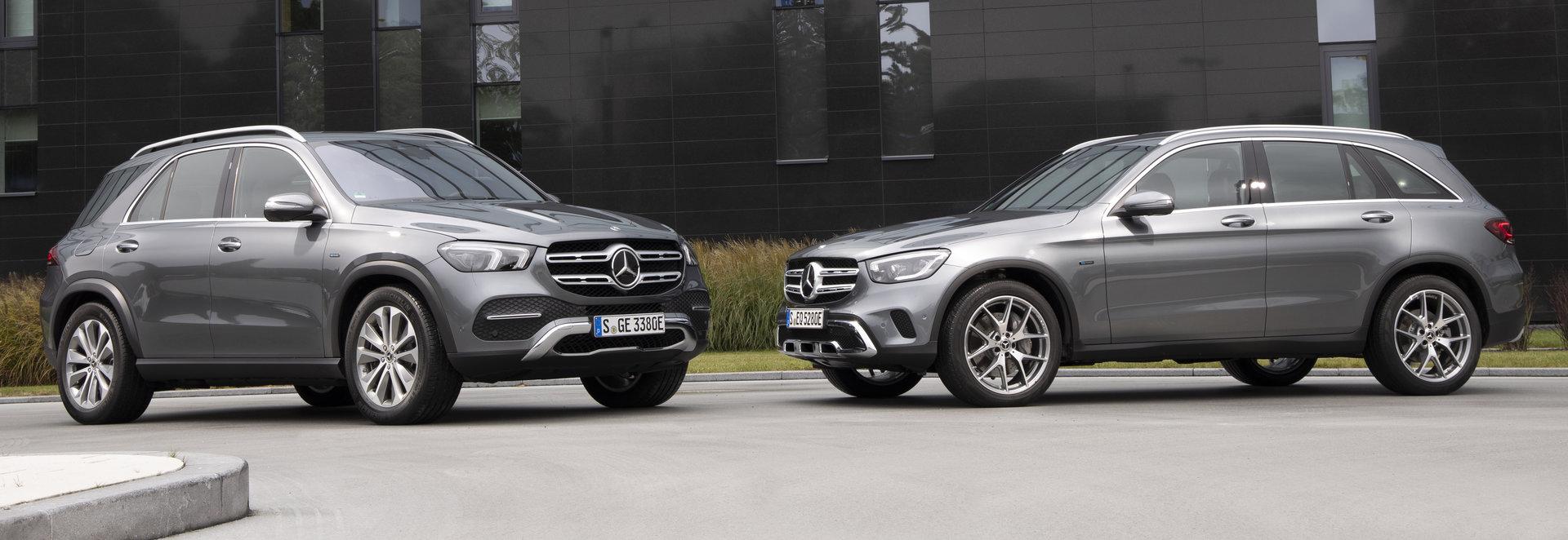 Nuevos híbridos de Mercedes-Benz, GLE 350 de 4MATIC y GLC 300 e 4MATIC