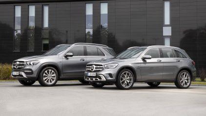 Mercedes Benz GLE 350 e y GLC 300 e 2