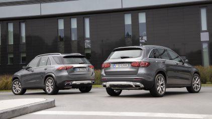 Mercedes Benz GLE 350 e y GLC 300 e 3