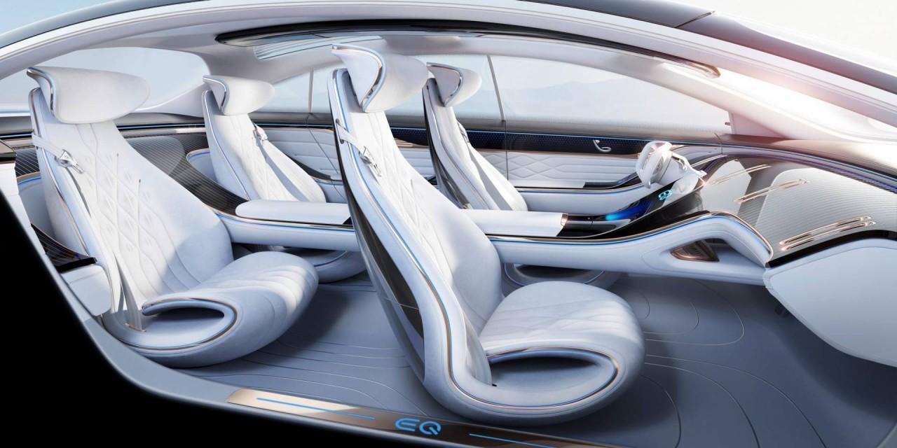 Mercedes EQ Concept Interior (1)