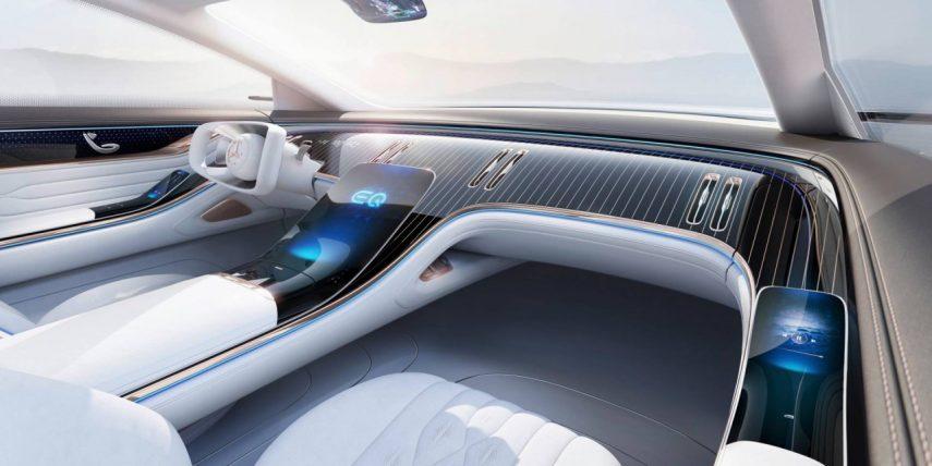 Mercedes-Benz desvela el interior del EQ Concept