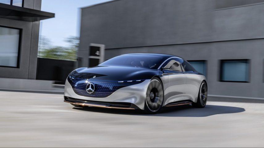 Mercedes-Benz Vision EQS, un anticipo al próximo referente de la compañía
