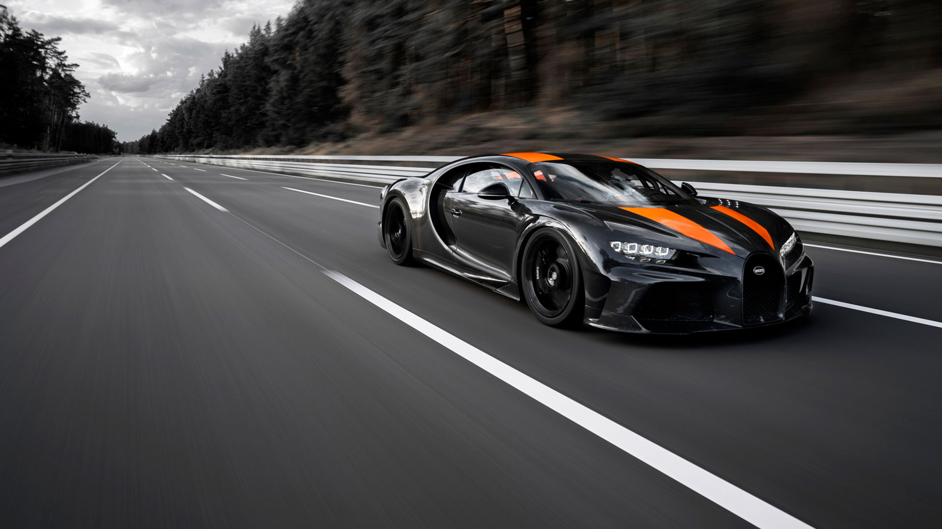 El Bugatti Chiron ya es el coche de producción más rápido del mundo: 490 km/h