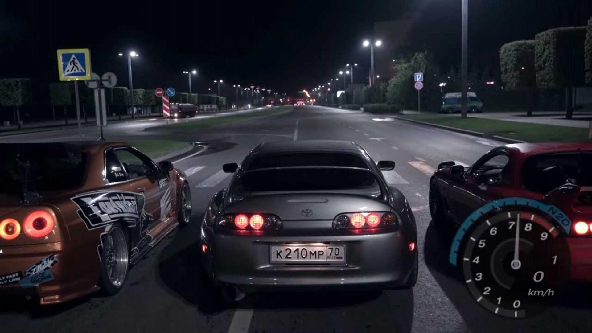 """""""Need for Speed"""" ruso en la vida real, segunda parte"""