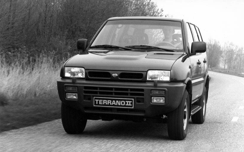 Coche del día: Nissan Terrano II 2.7 TD SGX (1993)