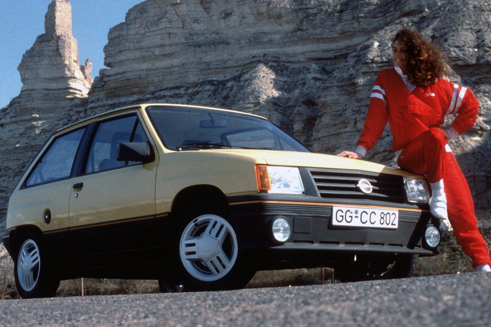 Coche del día: Opel Corsa GT (A)