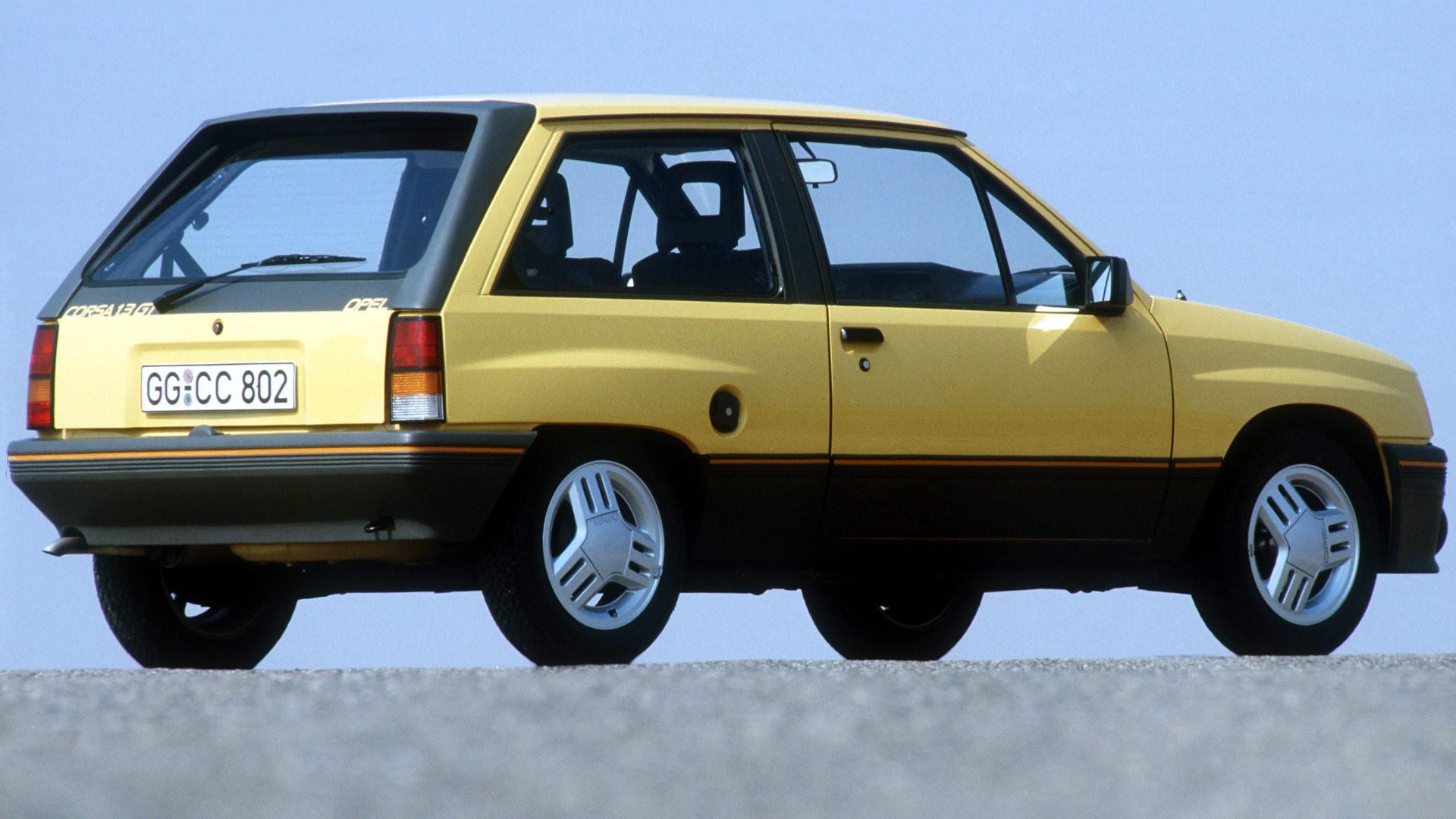 Opel Corsa GT 1985 5
