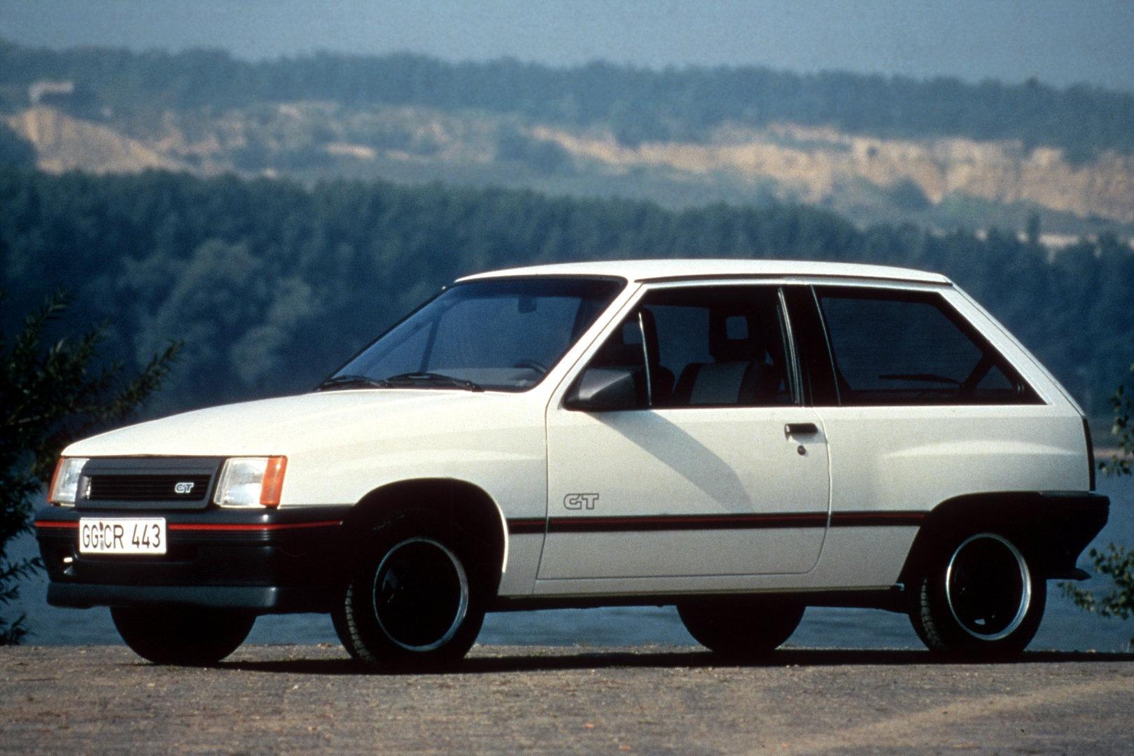 Opel Corsa GT 1987 2