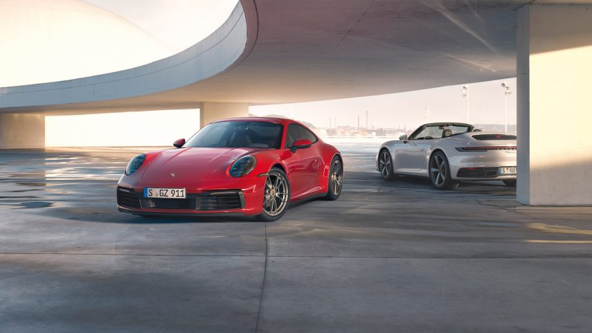 Nuevos Porsche 911 Carrera 4 Coupé y 911 Carrera 4 Cabriolet