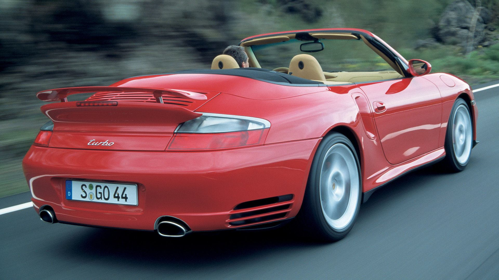 Porsche 911 Turbo Cabrio 996 3