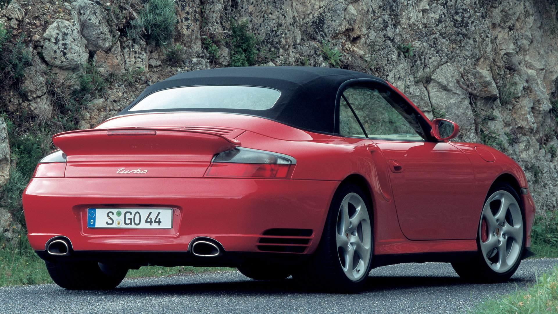 Porsche 911 Turbo Cabrio 996 4