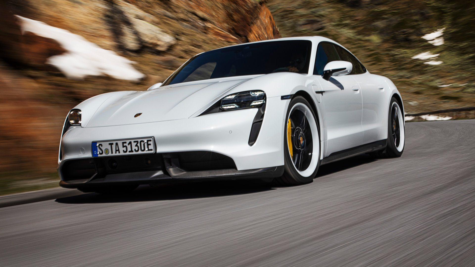 El Porsche Taycan Turbo decepciona ante la EPA