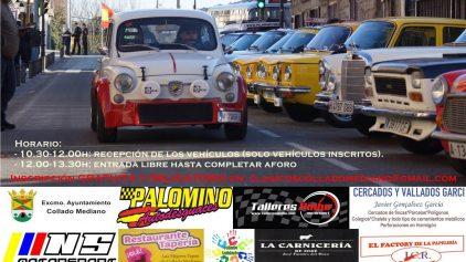 VII Concentracion Vehiculos Clasicos Collado Mediano 2019