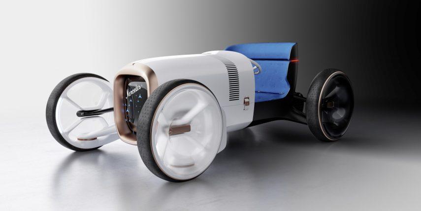 El Vision Mercedes Simplex es un ejercicio de diseño que se remonta a 1900