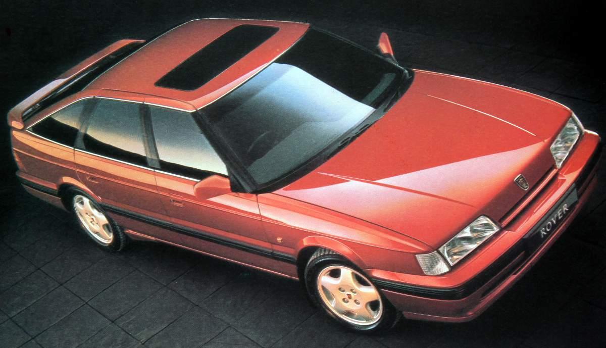Coche del día: Rover 827 Vitesse (1988)