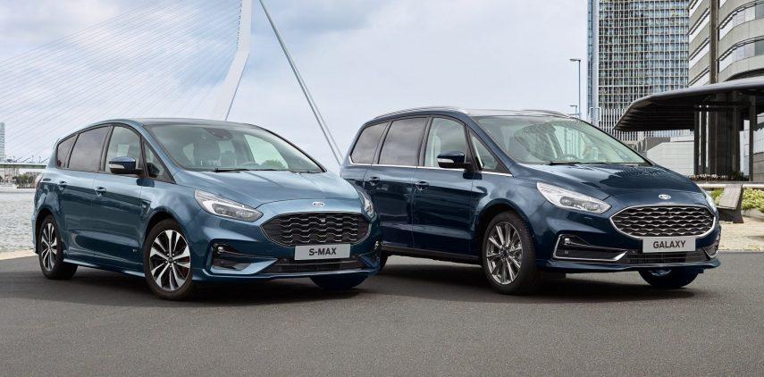 Ford Galaxy y S-MAX 2019: pequeños toques distintivos para mantenerse al día