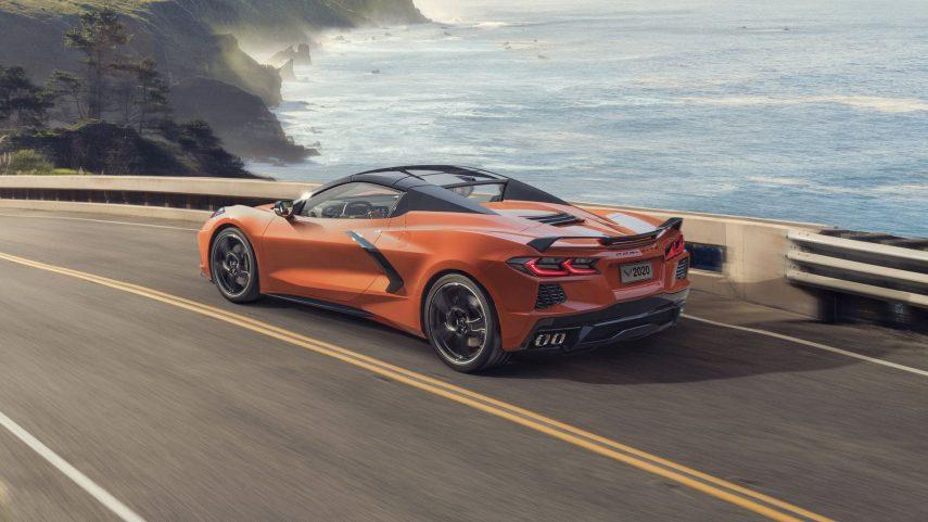 2020 Chevrolet Corvette Convertible, ahora descapotable