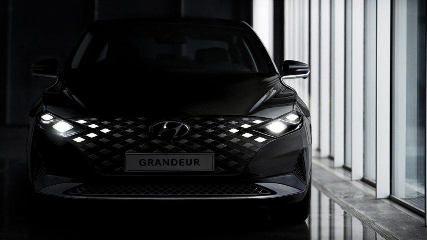 El Hyundai Grandeur se deja ver mediante teaser antes de su presentación
