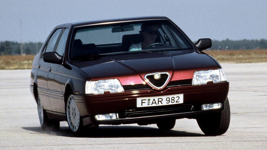 Coche del día: Alfa Romeo 164 2.0 V6 Turbo