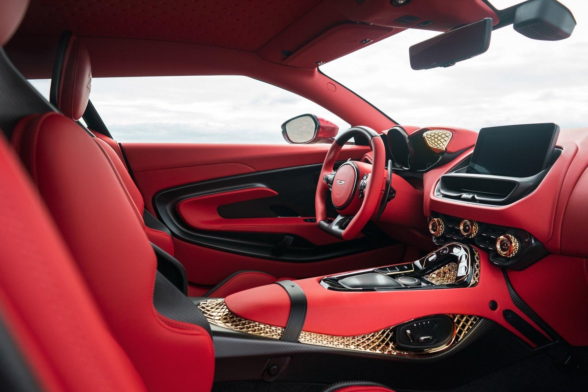 Aston Martin DBS GT Zagato Interior (2)