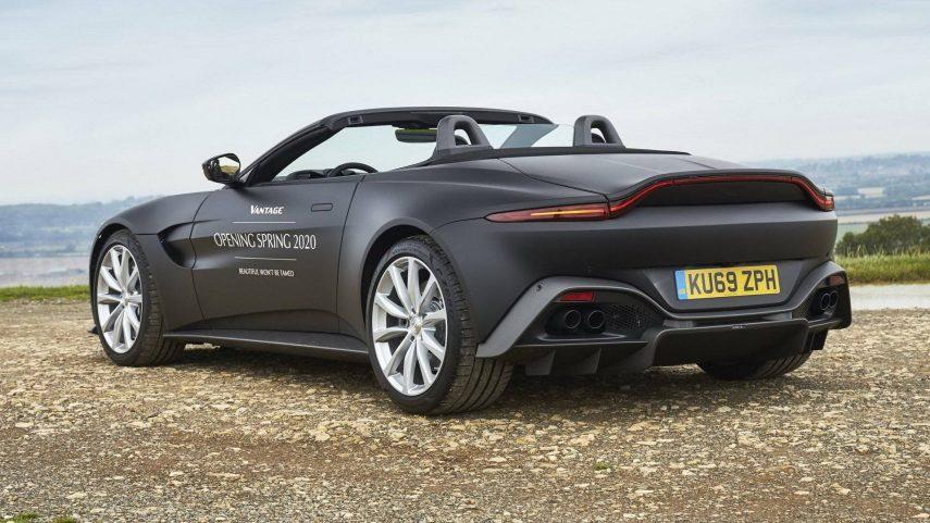 Aston Martin Vantage Volante, programado para la primavera de 2020