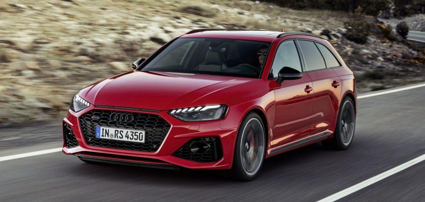 El Audi RS4 Avant 2020 actualiza su imagen y su equipamiento
