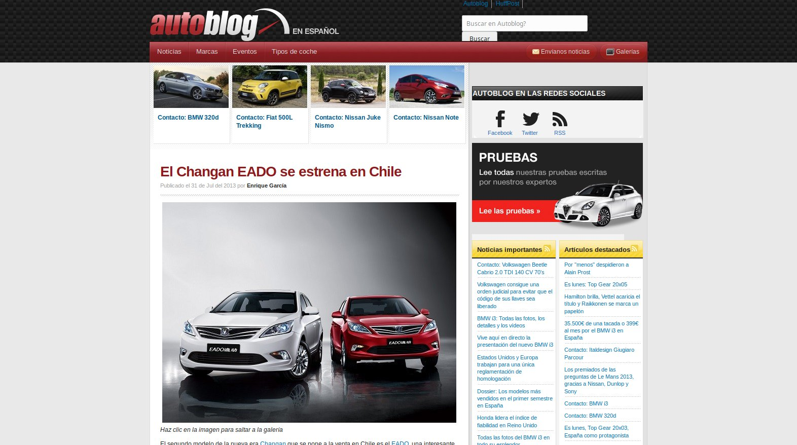 Autoblog Español 2013