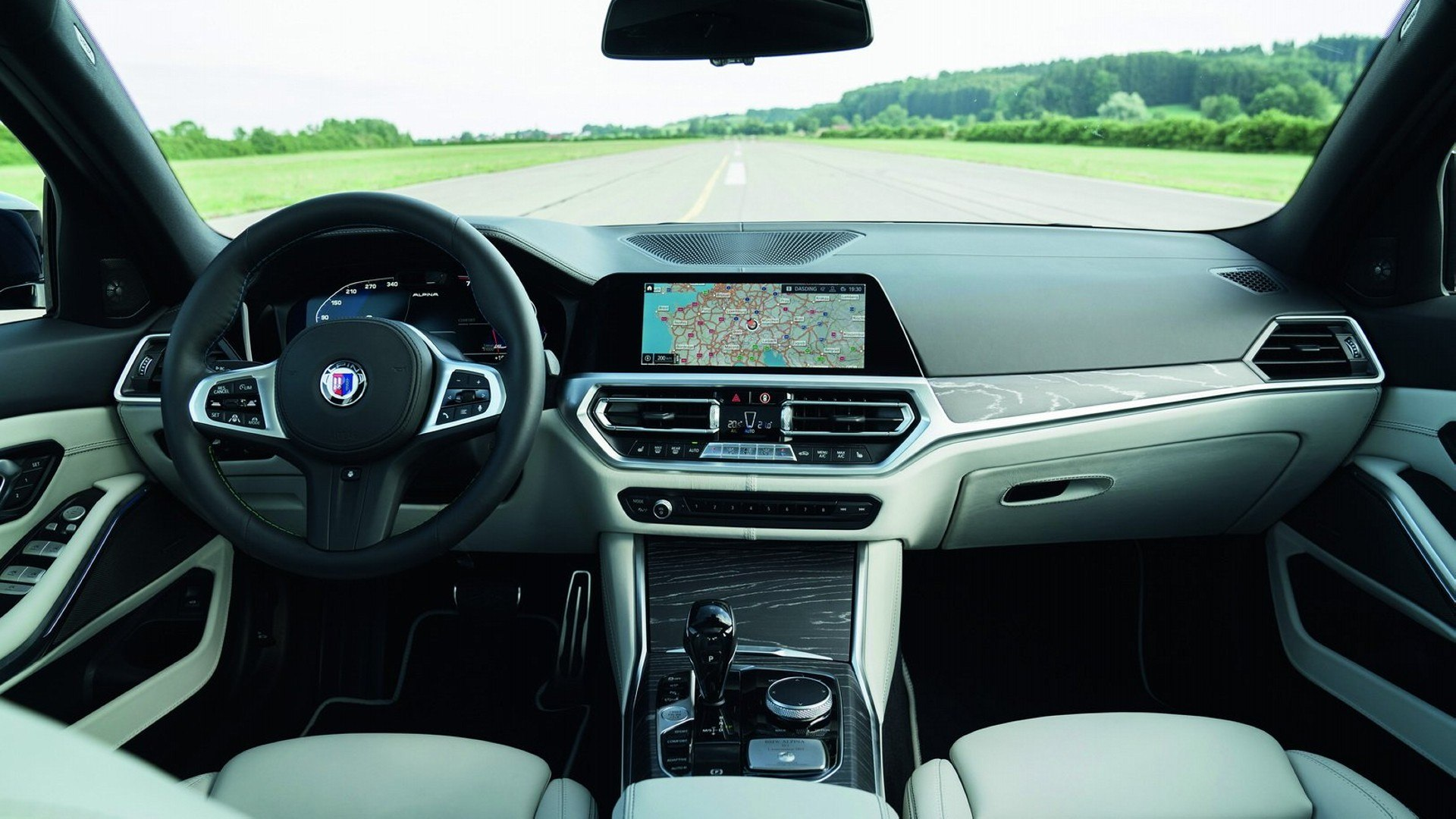 BMW Alpina B3 Interior (1)
