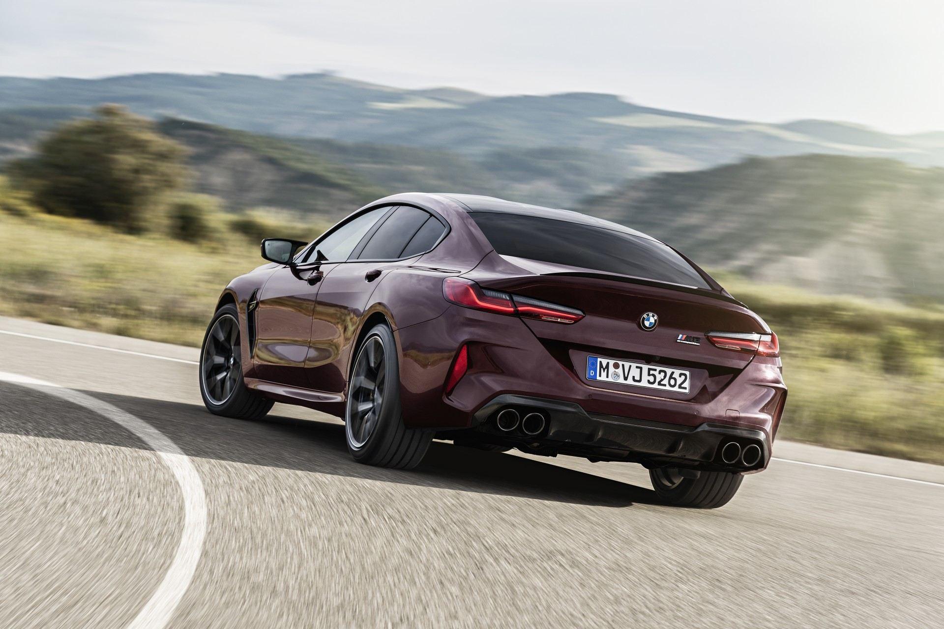 BMW Serie 8 Gran Coupe 2020 Exterior (37)