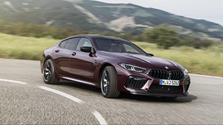 BMW M8 Gran Coupé, la nueva superberlina de las tierras bávaras
