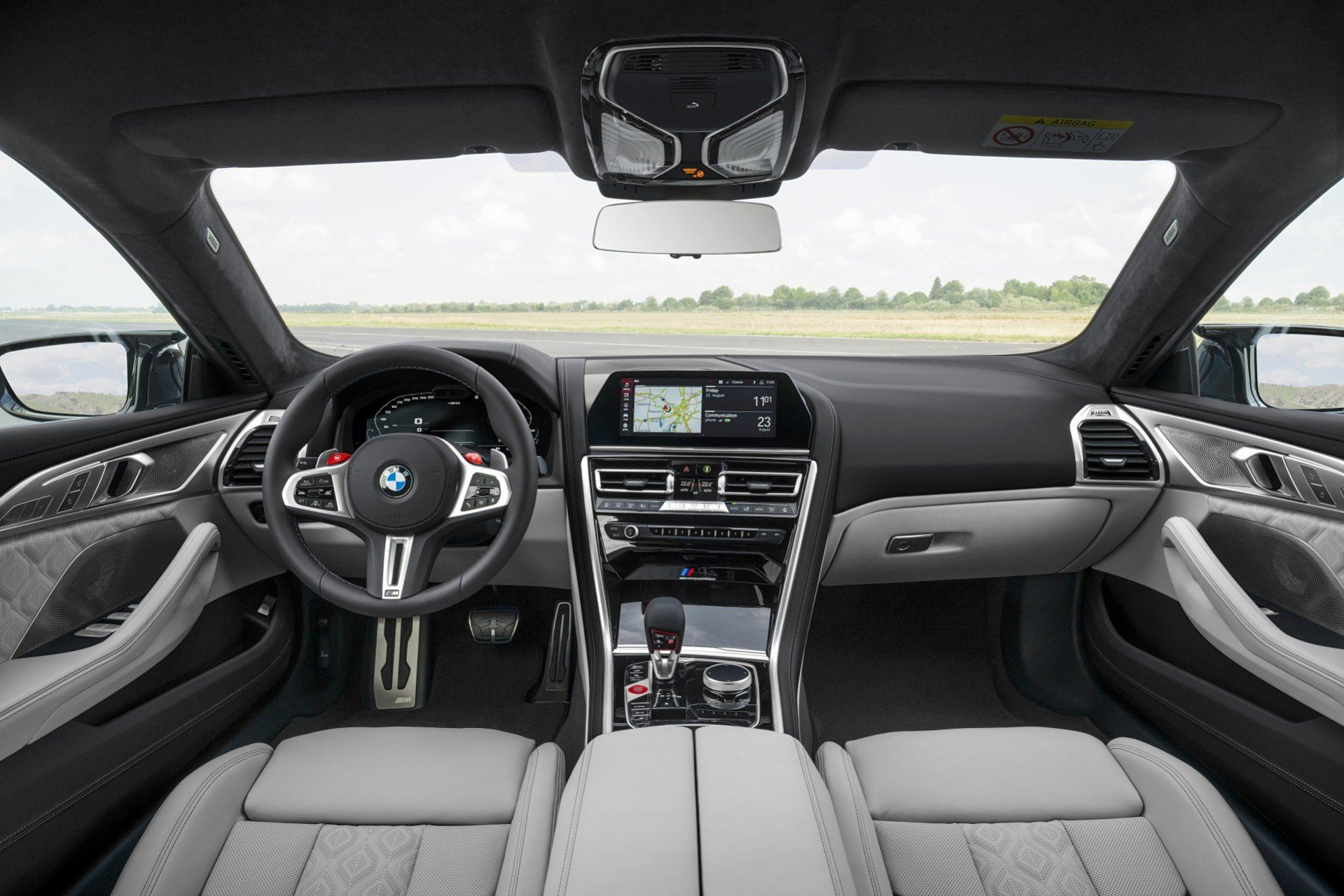 BMW Serie 8 Gran Coupe 2020 Interior (4)