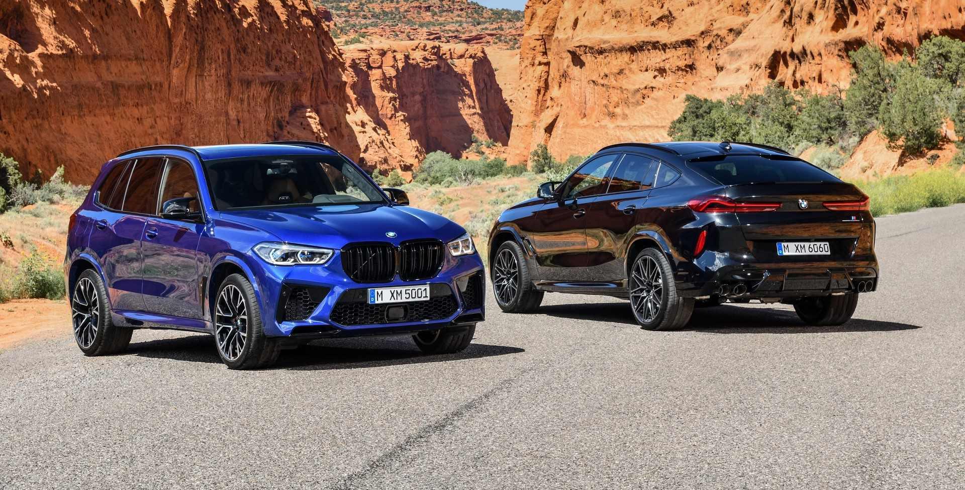 Llegan los nuevos referentes del concepto SUV deportivo: BMW X5 M y X6 M 2020