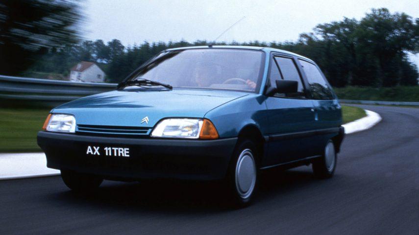 Coche del día: Citroën AX 11 TRE