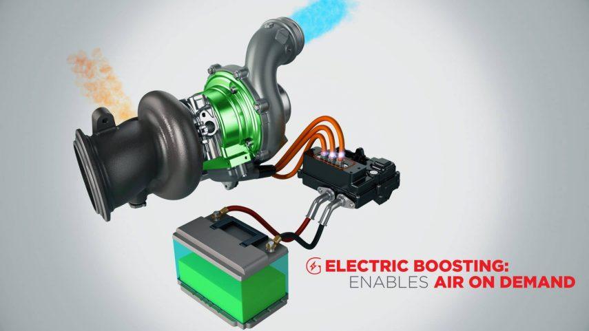 E-Turbo, el turbo eléctrico de Garrett