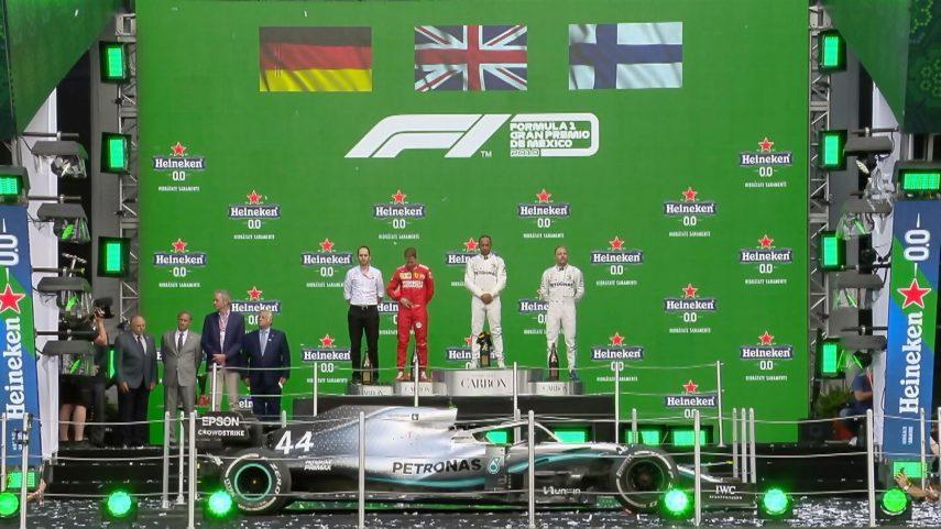 GP de México: Ferrari pierde una carrera muy estratégica que gana Mercedes