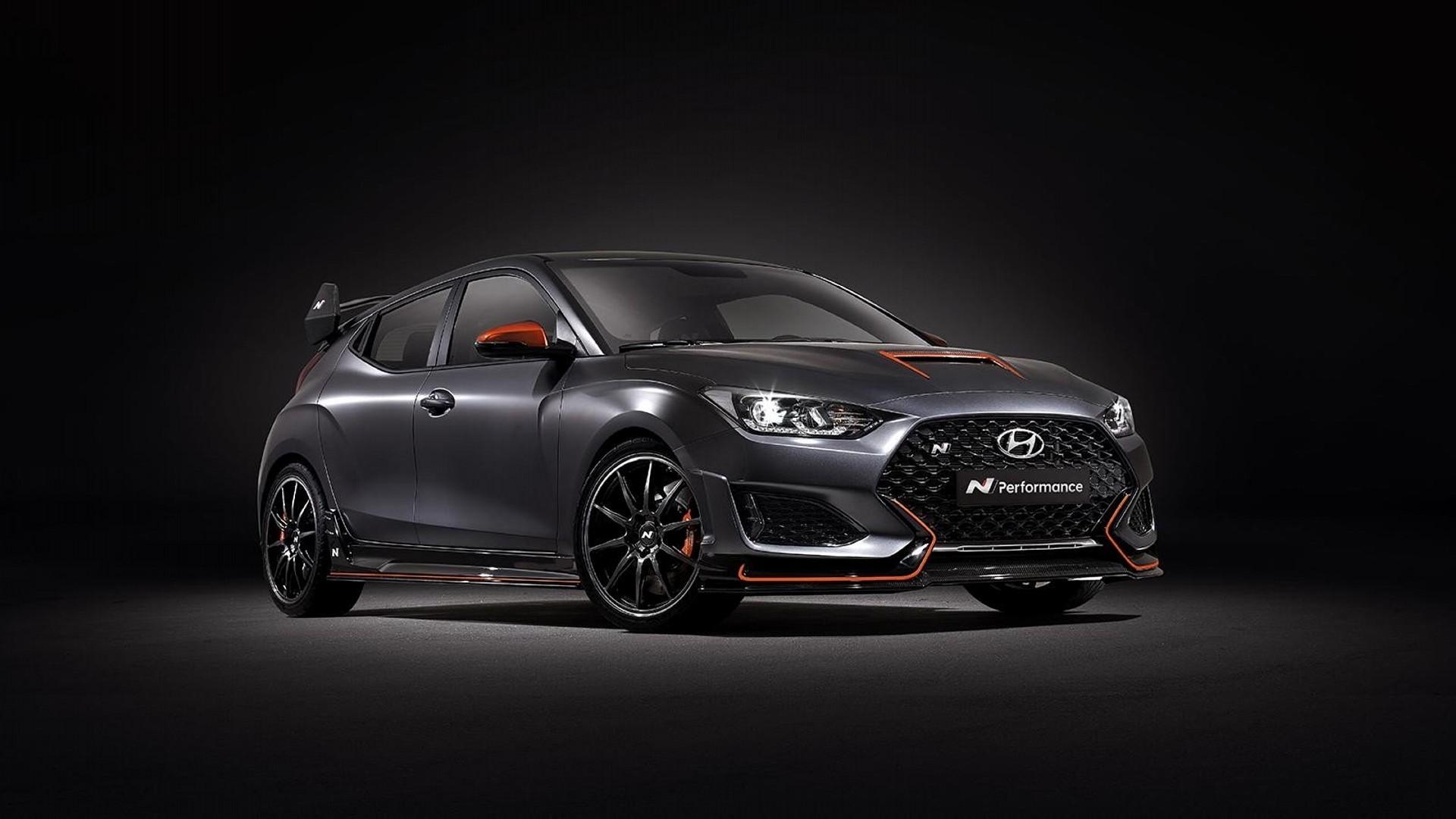 El Hyundai Veloster N Performance Concept llega con nuevos accesorios de fábrica