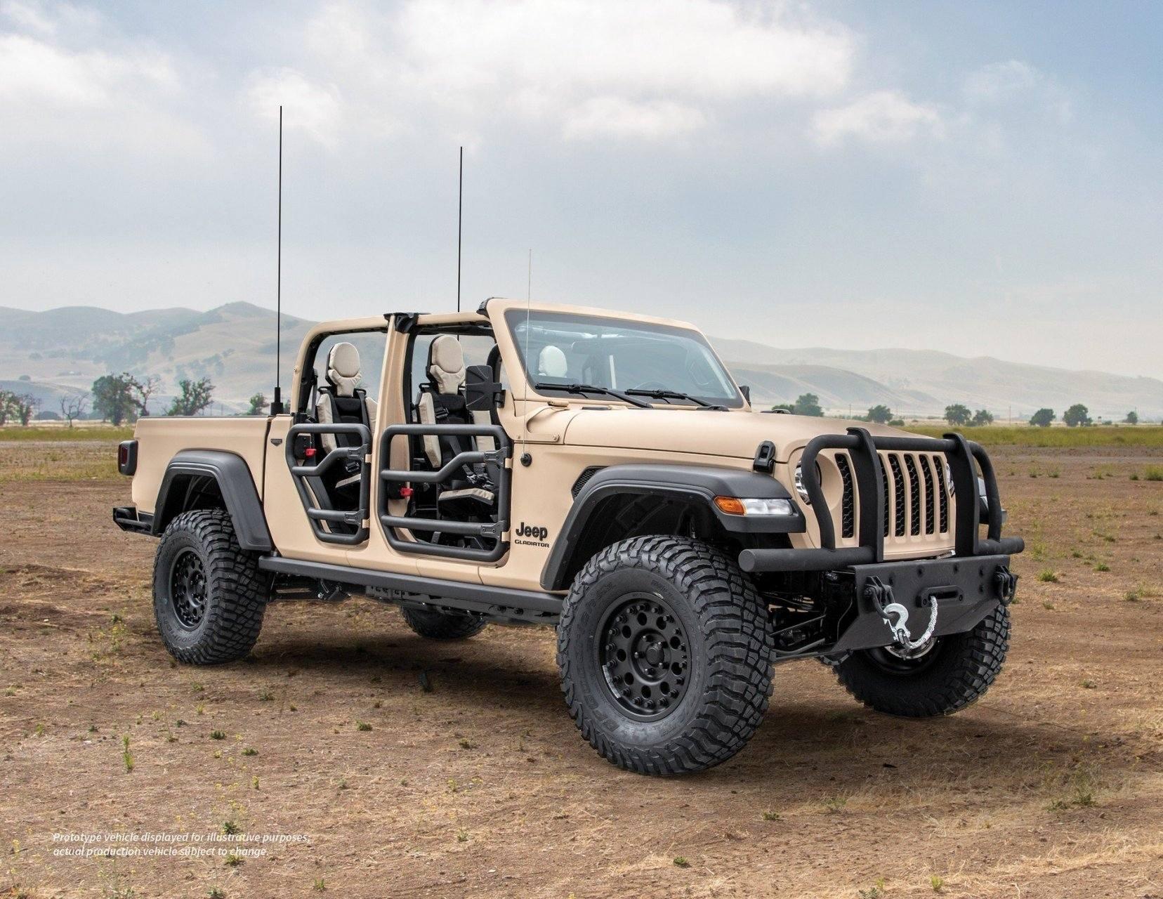 Jeep Gladiator XMT, al servicio del ejército