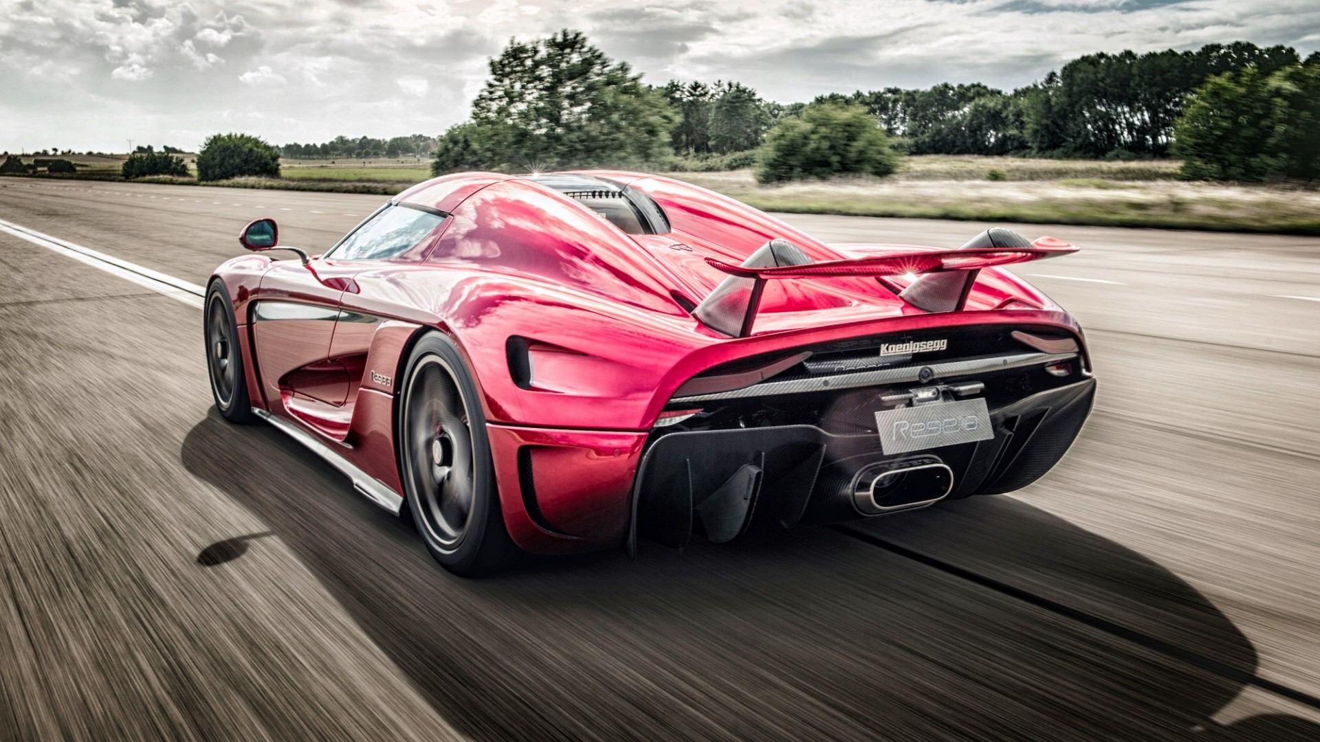 Súbete al Koenigsegg Regera para ver cómo bate el récord 0-400-0 km/h