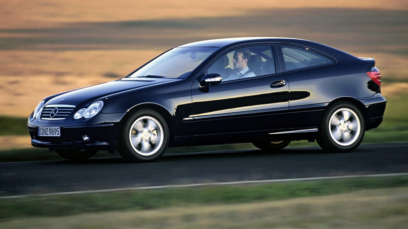Mercedes Benz C 320 Sportcoupe 2001 2