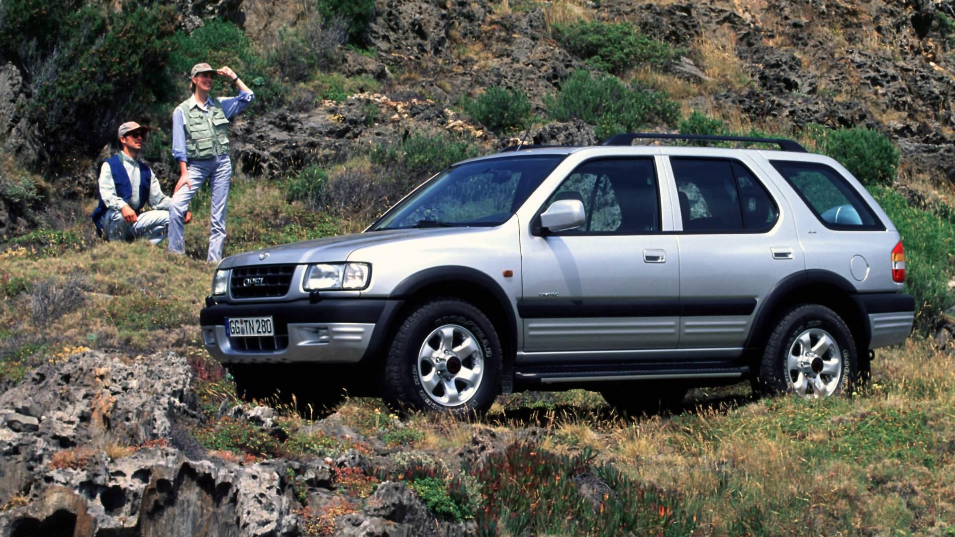 Coche del Día: Opel Frontera 3.2 V6 Limited (B)