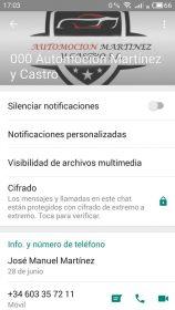 Perfiles WhatsApp falsos 1