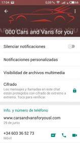 Perfiles WhatsApp falsos 2