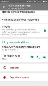 Perfiles WhatsApp falsos 4