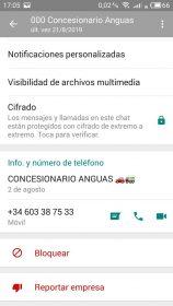 Perfiles WhatsApp falsos 7