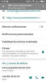 Perfiles WhatsApp falsos 9