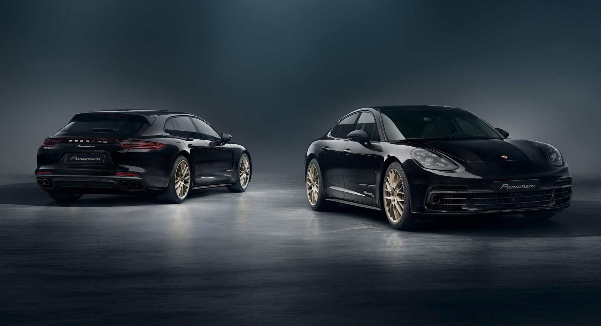 Porsche Panamera 10 Years Edition: más equipamiento y distinción para la berlina de Stuttgart