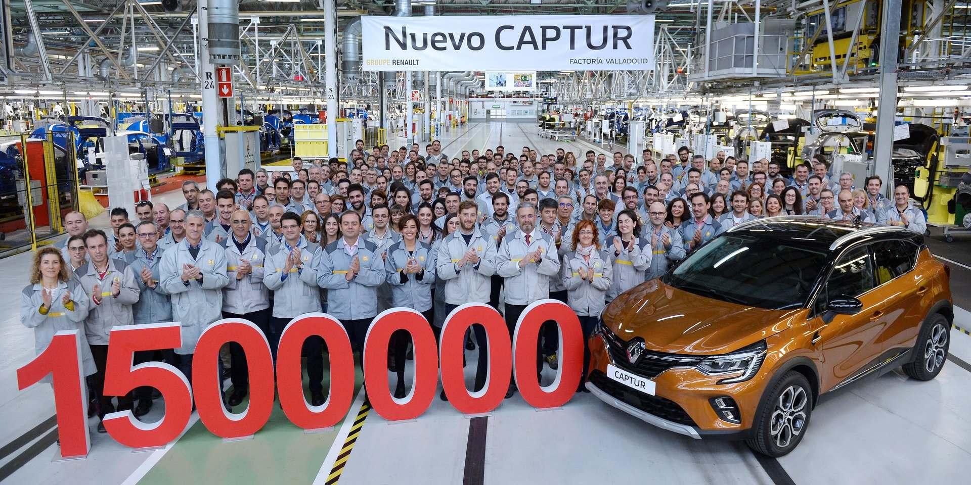 Renault Captur, un éxito de millón y medio de unidades en solo 6 años