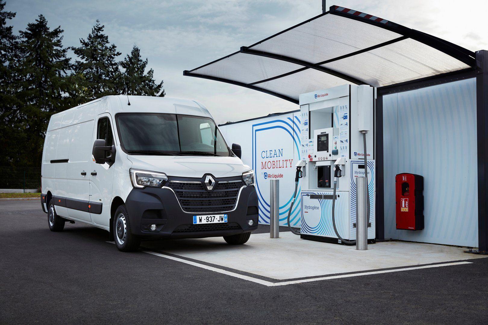 En 2020 llegan las Renault Kangoo y Master a base de hidrógeno