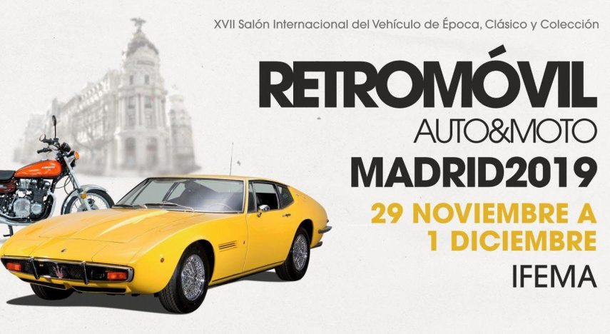 Retromóvil Madrid 2019: XVII Salón Internacional del Vehículo de Época, Clásico y Colección